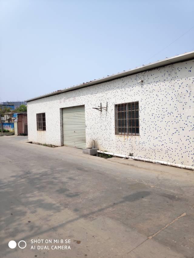 沙井万丰一楼路边小型厂房,适合各种小面积用户。