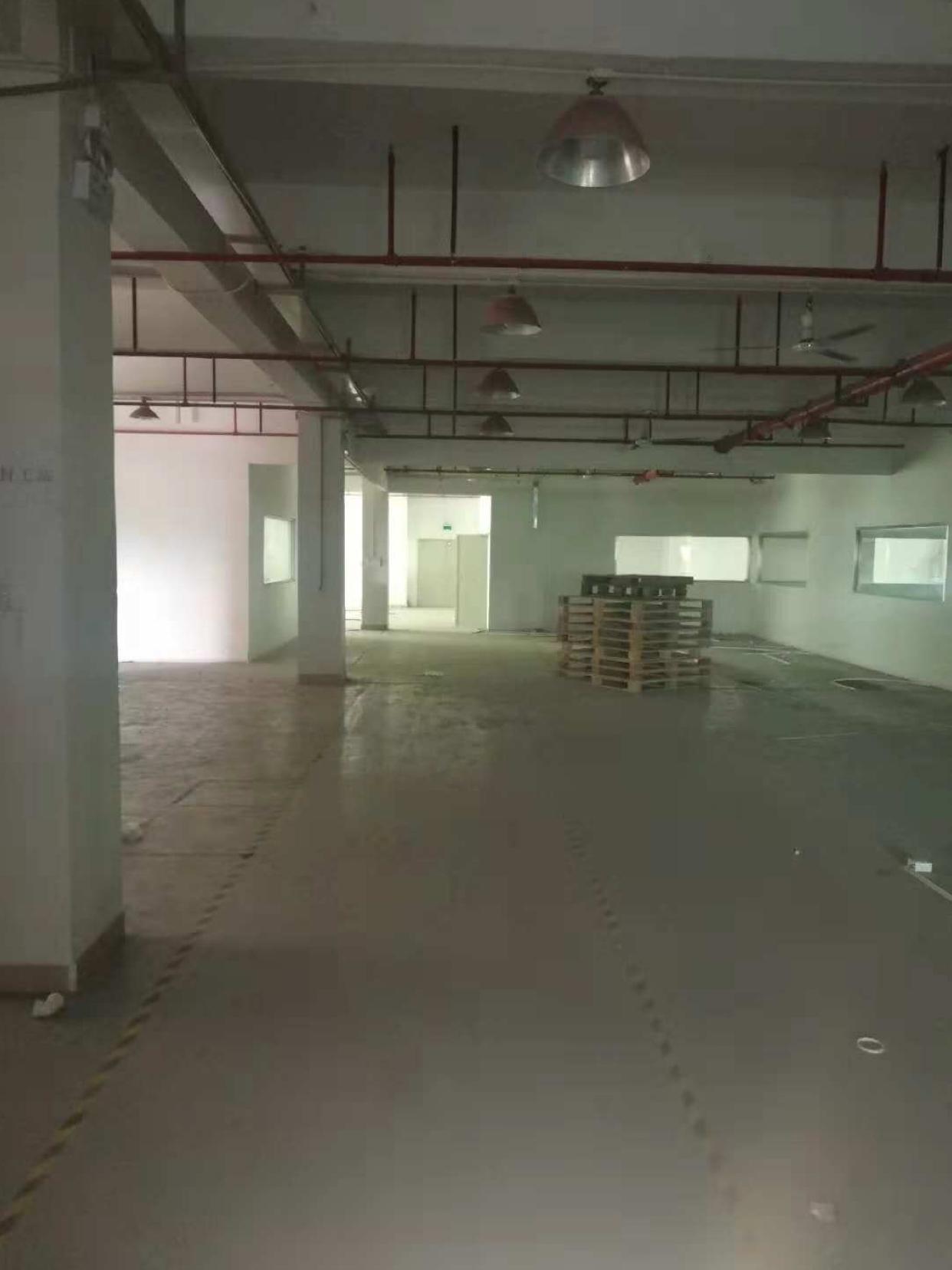 (出租)坑梓龙田楼上1450平红本厂房出租三吨电梯喷淋