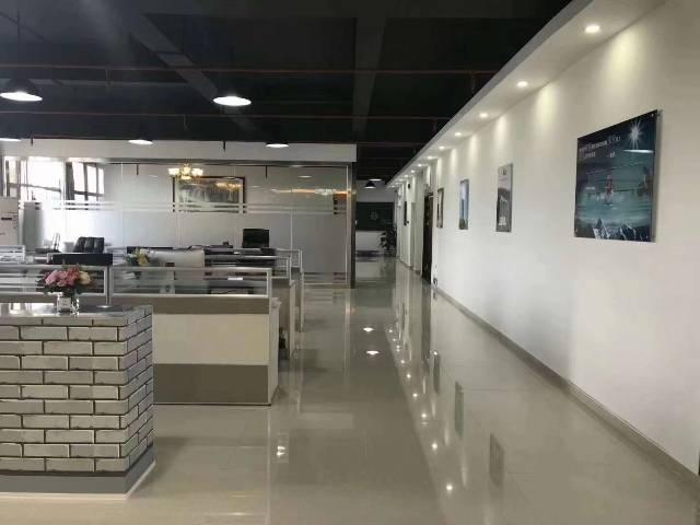 福永桥头地铁口新出精装修办公室贸易研发厂房800平出租