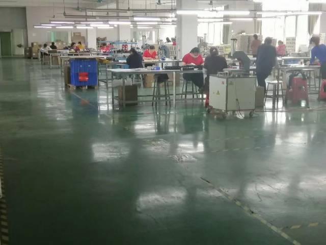 龙岗中心城原房东独院厂房,二楼1300平实际面积,精装修