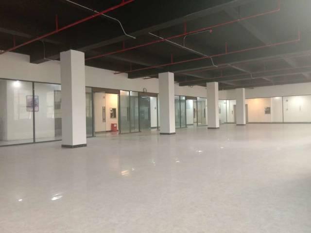 布吉丹竹头创意园新厂房2280㎡精装办公室低价急租