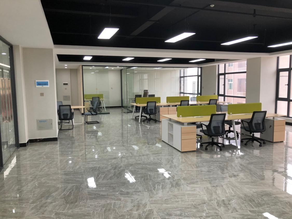 高埗镇5A甲级写字楼17层可分租120平至300平