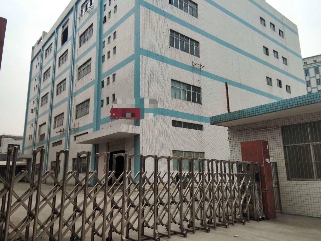 松岗江边原房东独院实际面积1-5层10000平租金18可谈