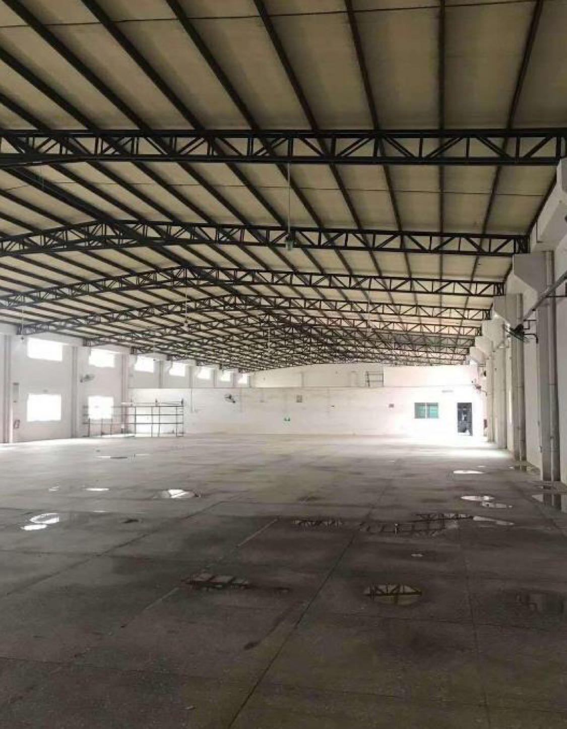 博罗园洲独门独院单一层滴水7米钢构17000平招租