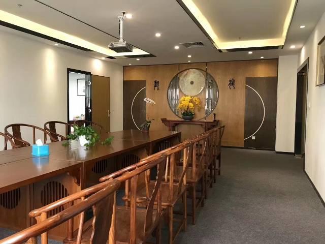 福永地铁口新出楼上原房东豪装办公室实际面积760出租-图9