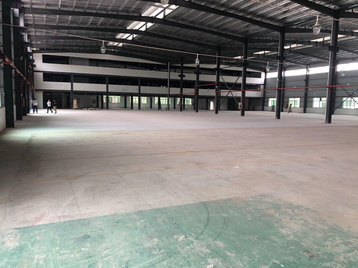 坑梓金沙原房东钢构厂房面积3600平方出租,可办环评