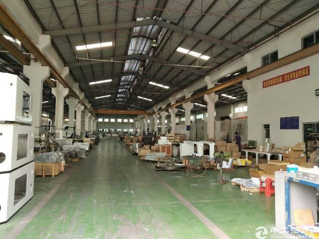 厚街镇新塘村新出单一层钢构厂房带行车1800平方出租,面积大
