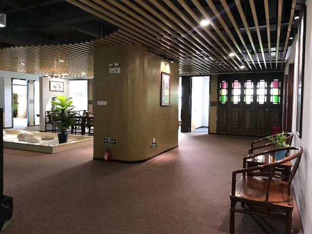 福永地铁口新出楼上原房东豪装办公室实际面积760出租-图8