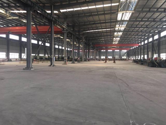出租单层钢结构厂房,行车5-10吨