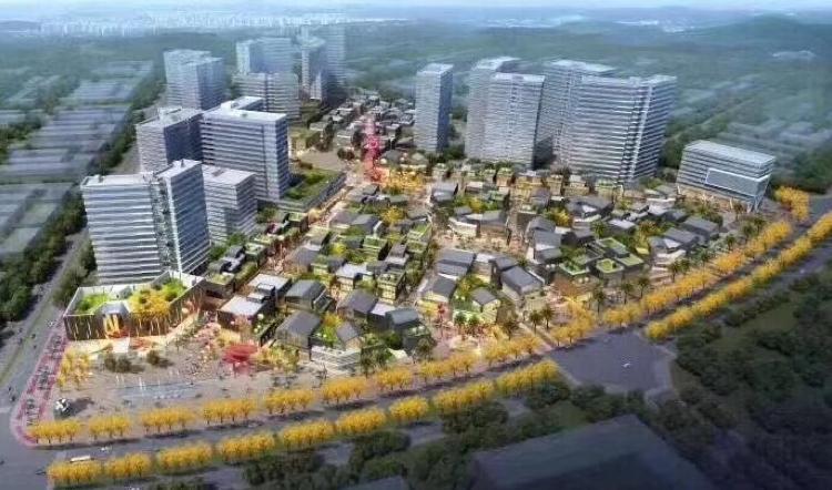 东莞厚街项目,有分层出售厂房
