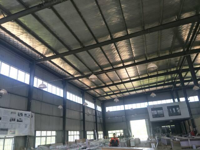 汉口北2400平钢结构厂房