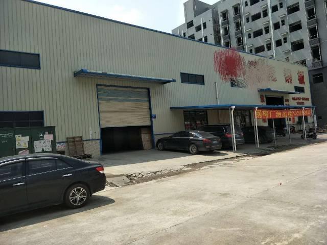 惠州市新出独门独院钢构厂房,现成的行吊,大小可以分租