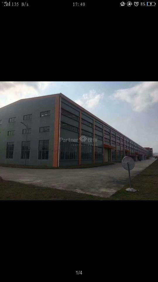 厂房独院20000平方,滴水12米,有红本,空地大