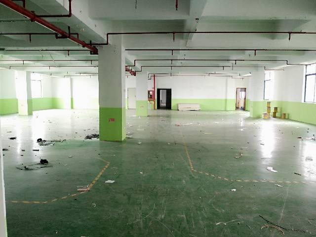 福永和平新出楼上760平带装修厂房招租