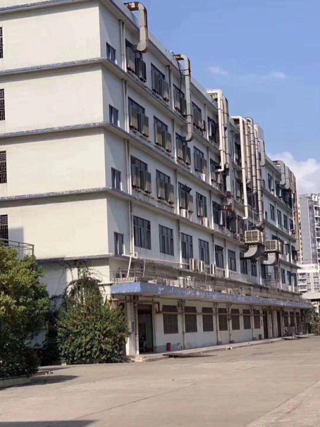 横岗六约地铁口分租珠宝园红本独院厂房5层共8400平