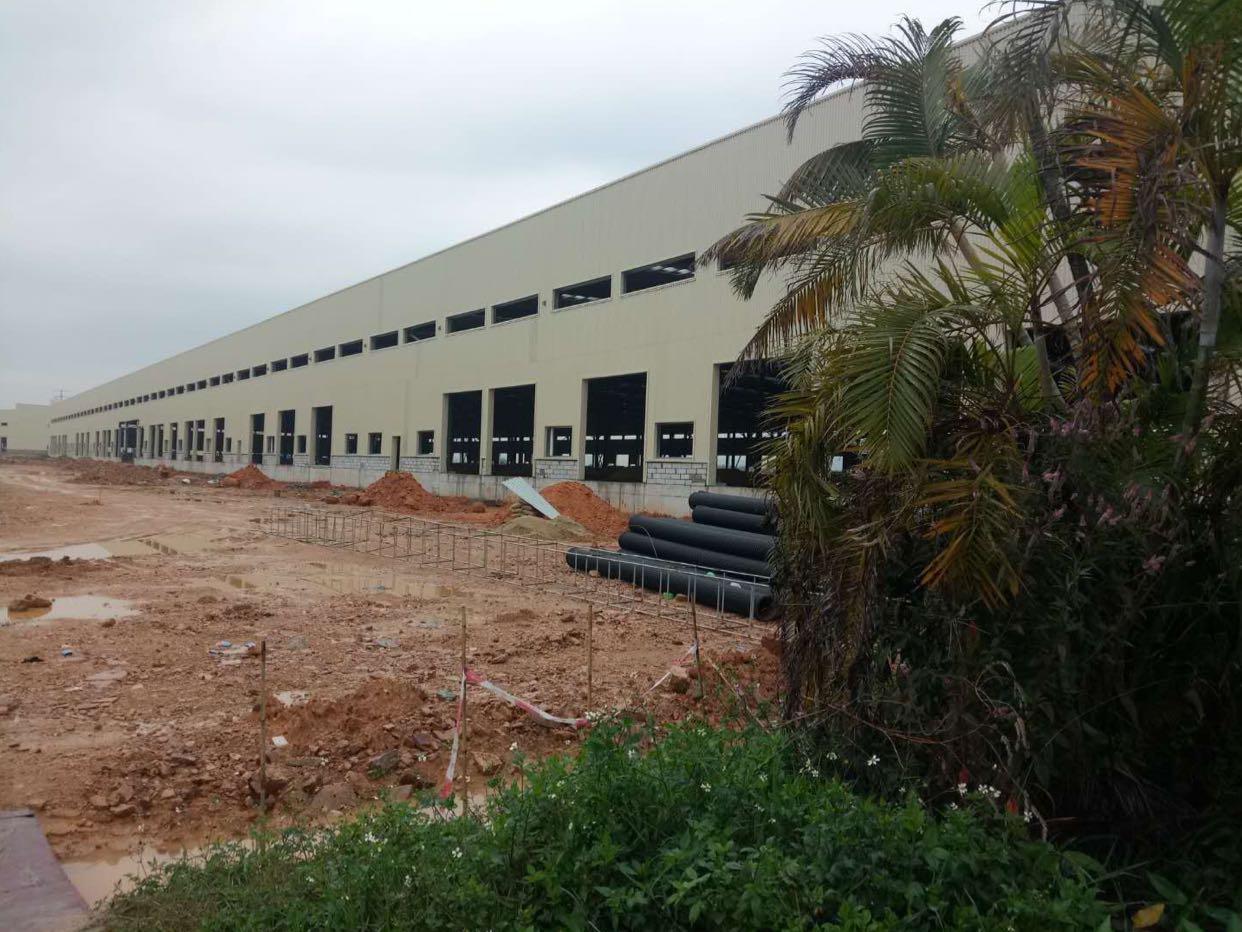 广州番禺国际物流仓库21万平米滴水12米空地超大