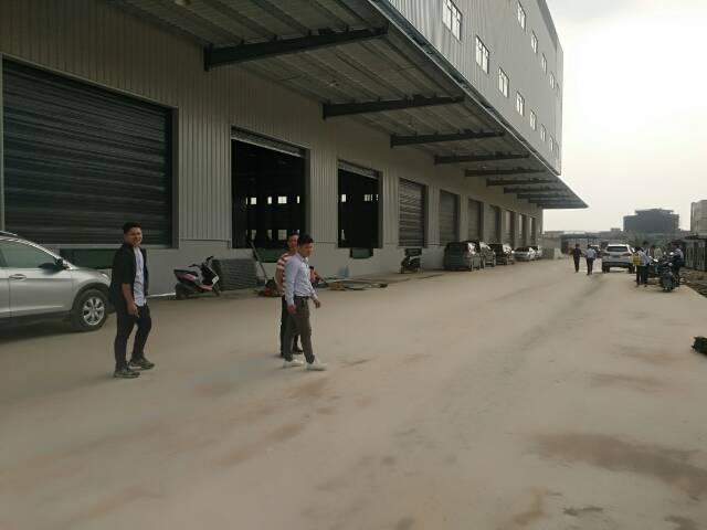 麻涌黄埔新塘广州永和开发区高速路口附近独门独院钢构物流仓招租