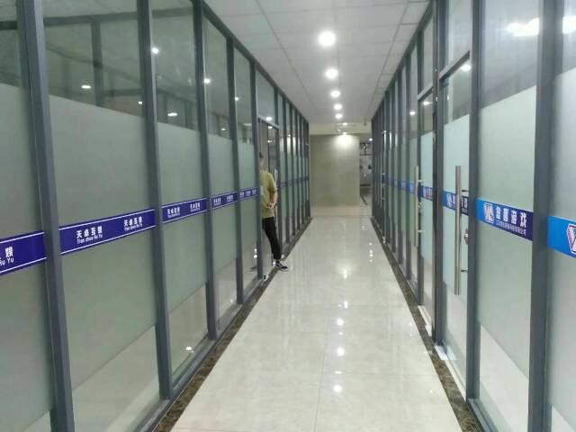 天河区广棠东路写字楼出租,面积216平山精装修带卡座