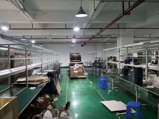 公明楼村工业区楼上750厂房出租(图片真实有效)红本
