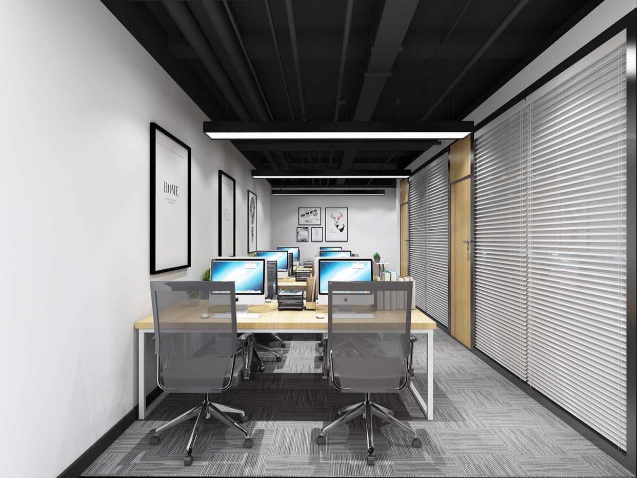 高塘石地铁口大型产业园新出空楼上466平办公室