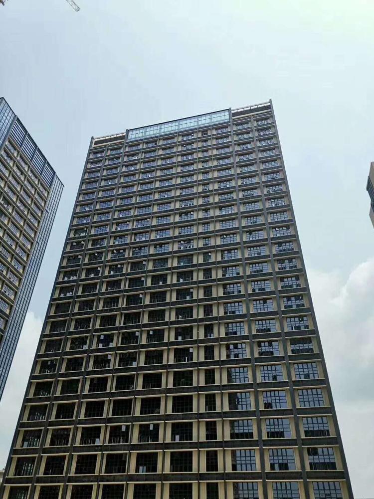 松岗高速出口全新50年红本写字楼23600平米109本房产证