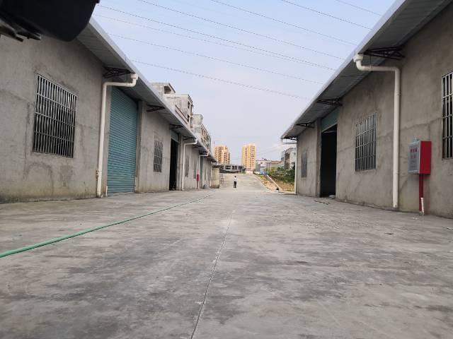 惠东全新独院2200平铁皮房行业不限可分租