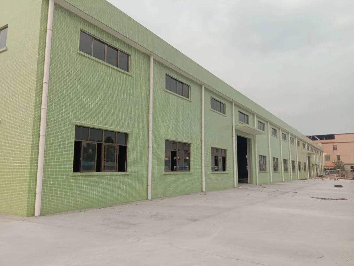 博罗新出独门独院砖墙到顶单一层厂房4500平方出租