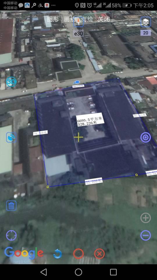 小金口占地8500,建筑17,800平方,国有证售3500万