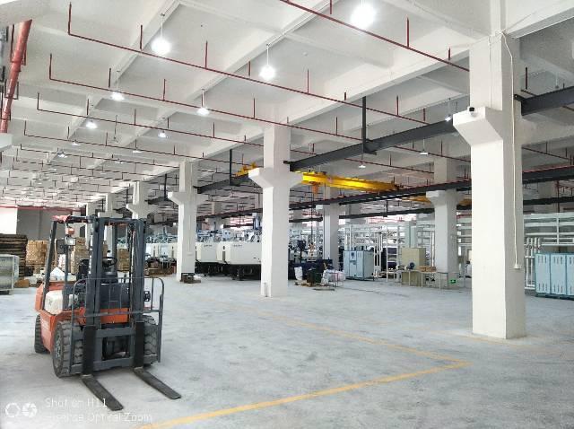 惠阳沙田全新红本独栋标准厂房一楼带牛角2680平出租-图2