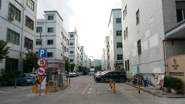 龙华大浪大型园区独栋厂房1-4楼10200平出租