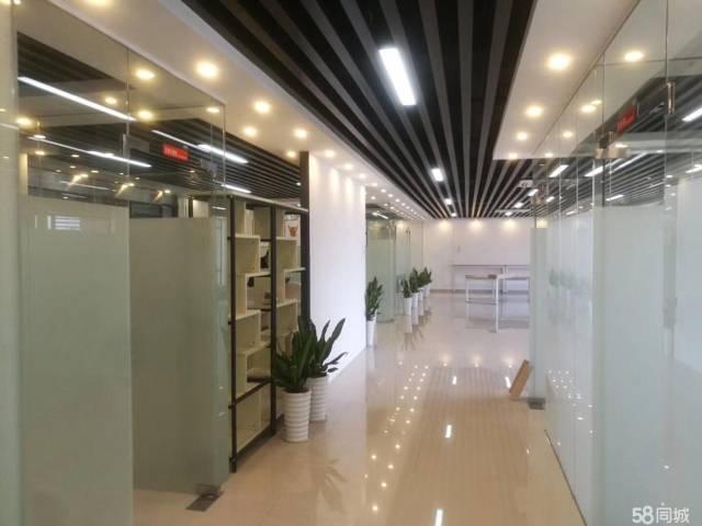 横岗六约地铁站300米精装修办公楼待出租