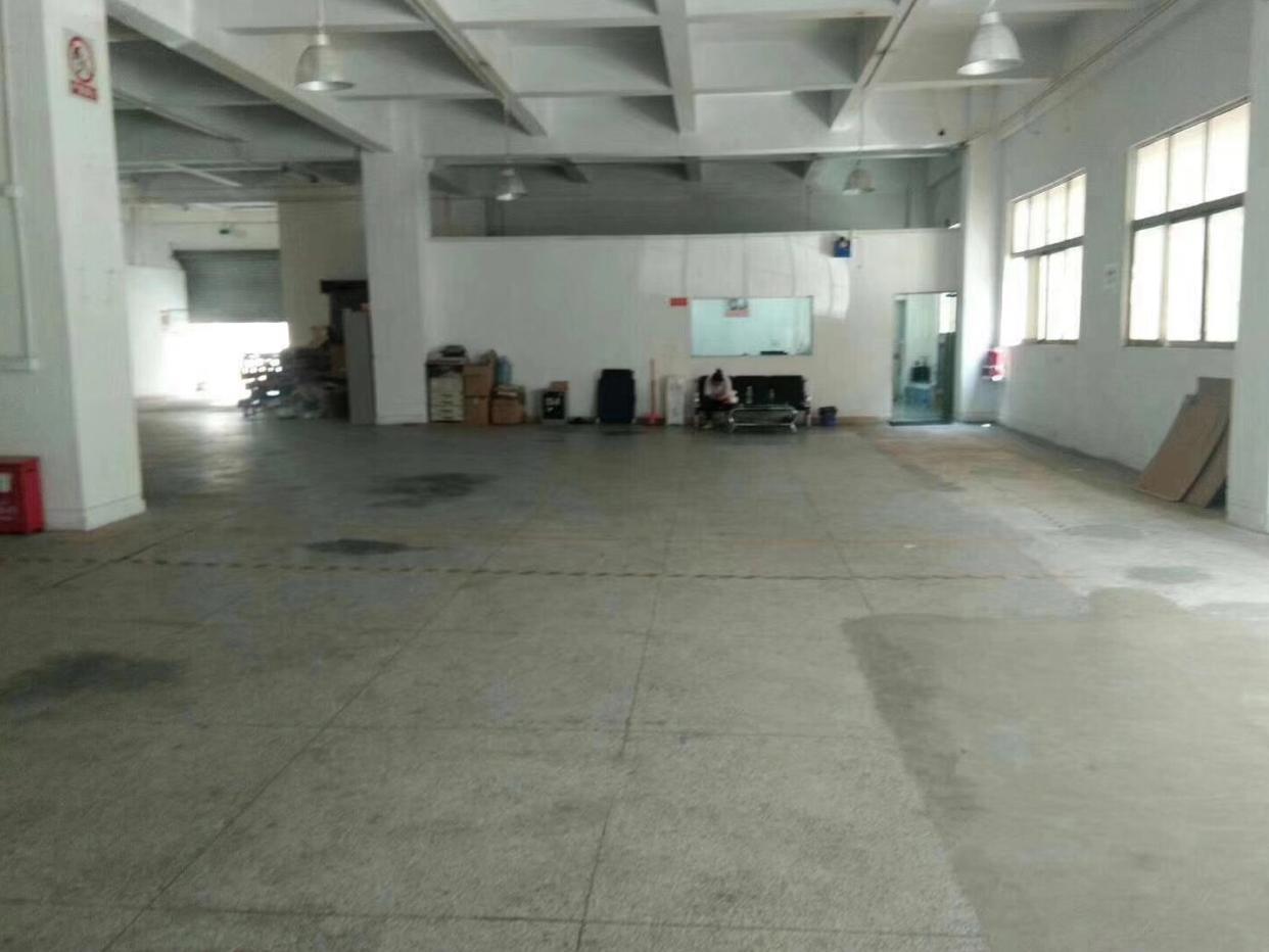 福永镇宝安大道边一楼层高6米720平厂房招租