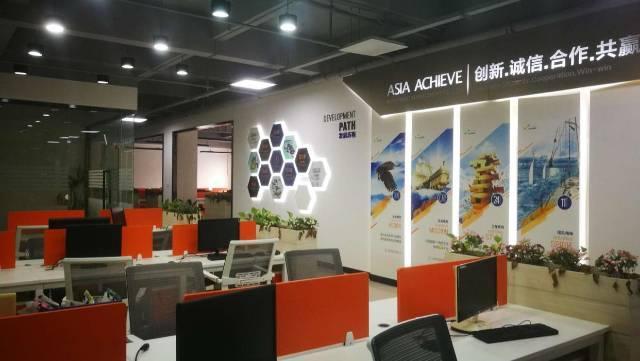 广州天河车陂地铁口带装修办公家私210平办公室转租