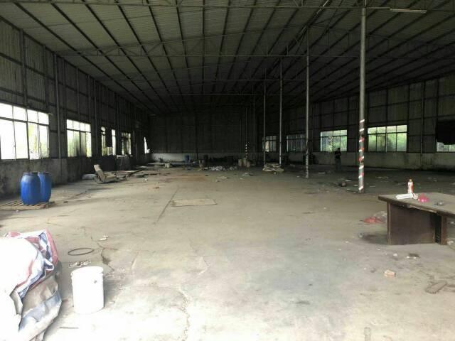 大岭山铁皮厂房招租面积600平方