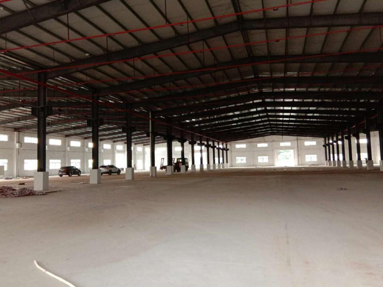 博罗新出独门独院砖墙到顶单一层厂房4500平方出租-图3