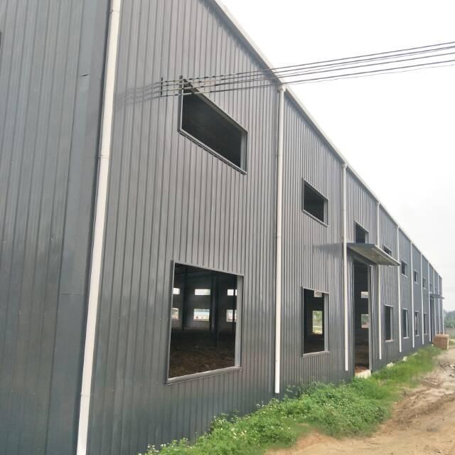 湖镇新出钢结构独院厂房约3000平,租10元,电150千瓦