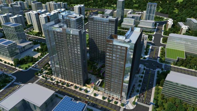 宝安松岗双高速出口开发商全新写字楼200平起独立红本50年产