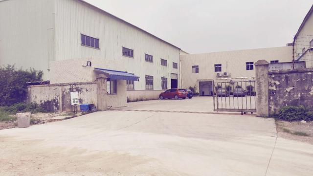 独院单一层厂房,高度9米,带牛角,有现成办公室,水电。