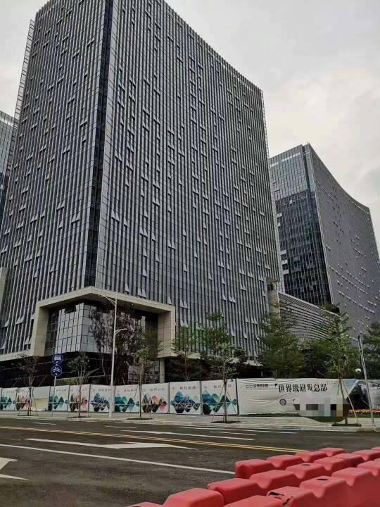 广州市黄埔科学城标准甲级写字楼,光线好楼层高