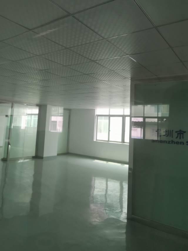 福永怀德楼上600平方精装修厂房出租