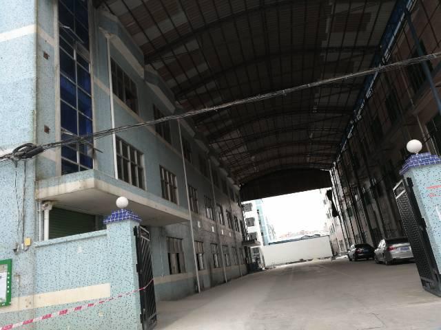 深圳市宝安光明公明镇塘尾村一楼厂房出租1050平带牛角