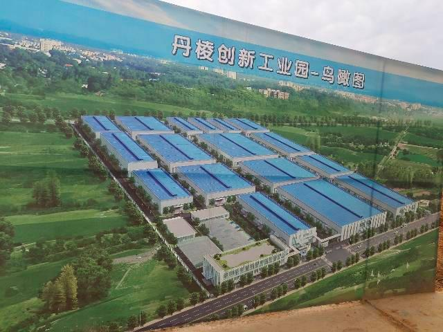 眉山丹棱创新制造产业园,全新单层钢结构厂房