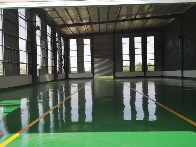 出售带环氧地坪漆精装修单层厂房,面积大小可分