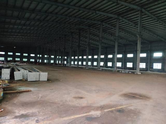 惠阳良井独门独院钢构11米高厂房招租,证件齐全周边无居民