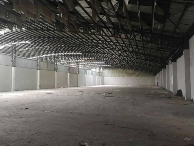 单一层砖墙到顶带装修厂房出租