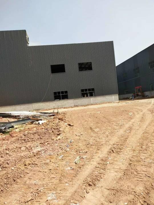 水口镇新出钢构厂房新建可以定建35000