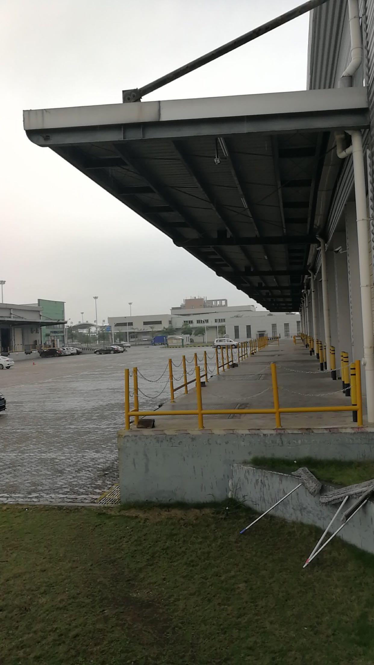 沙田镇全新一至三层标准丙二类高台仓库出租22000平方四面可