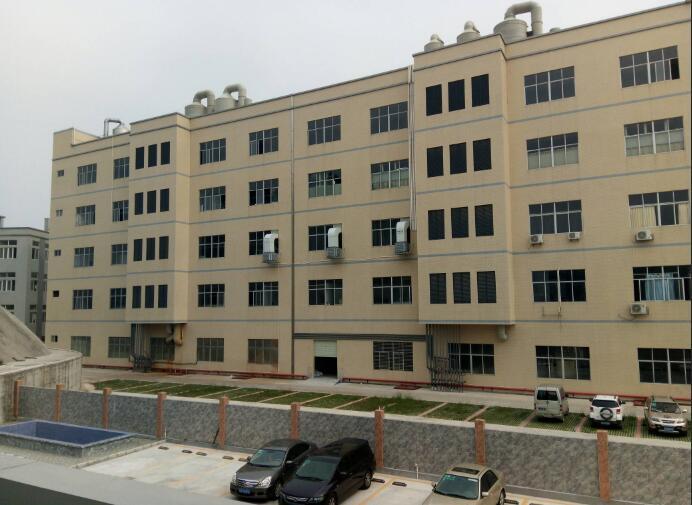 沙井高速附近独院整层7000平米仓库厂房出租带平台