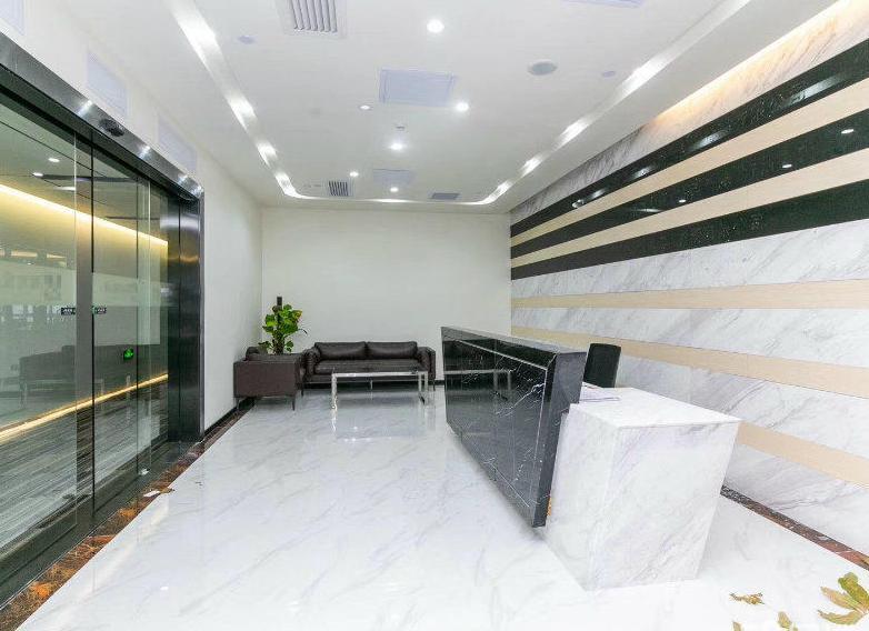 沙井地铁口写字楼331平方出租带精装修