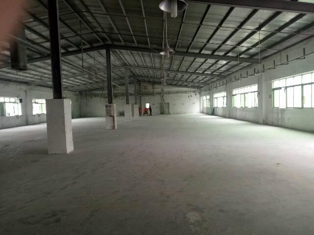 大朗靠近高速出口附近工业园区里分租1栋一楼800平方